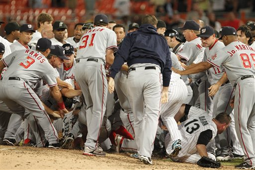 Nats-Marlins benches clear.jpg