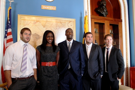 Ryan Zimmerman and company at the Capital.JPG