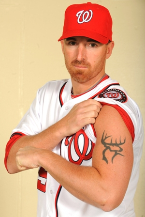 Adam LaRoche deer tattoo.JPG