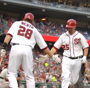 LaRoche led the Nationals in home runs and RBI in 2012.