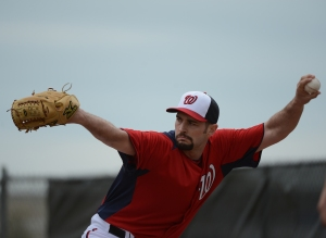 Bray returns to camp with the Nationals for the first time since 2006.