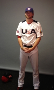 Detwiler will set aside his Nationals gear to play for Team USA.