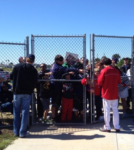 Both media coverage and attendance are up at Spring Training this year.