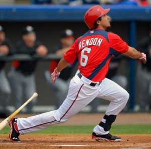 Rendon's two-run blast accounted for all of Washington's scoring Sunday.
