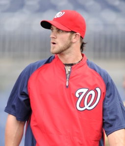 Rendon hopes to follow Harper's path as the top prospect in the system.