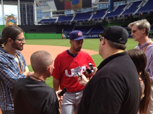 Gio Gonzalez is the most popular man in Miami heading into his Team USA debut tomorrow.