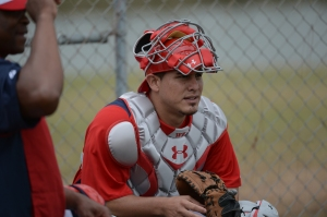 Wilson Ramos is back behind the plate in game action for the first time Tuesday.