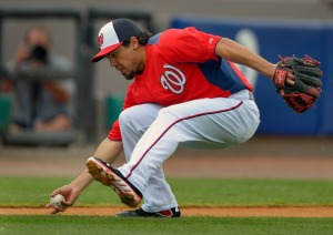 Rendon has also impressed with his defense - especially his arm - this spring.