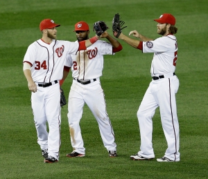 The outfield trio of Span, Harper and Werth wreaks havoc on opposing pitchers.