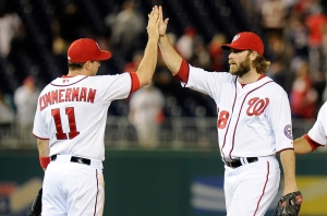Ryan Zimmerman is surrounded by a lineup chalked full of talent.