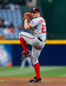 Almost always stoic and composed on the mound, Zimmermann's internal fire leads him to go right after hitters.