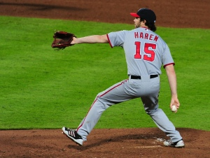 Dan Haren and the Nationals are quietly back within 2.5 games of first place.