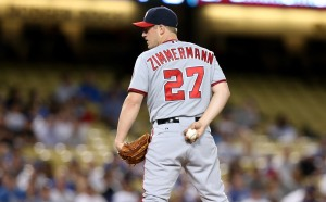 Zimmermann kept his early season success rolling at Dodger Stadium Monday.