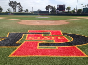 Strasburg's college diamond at San Diego state is just a few miles up the road from Petco Park.