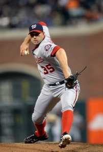Craig Stammen silenced the Braves over four innings of emergency relief to earn his third win.