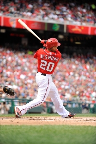 Desmond's 40 extra-base hits tops all Major League shortstops.