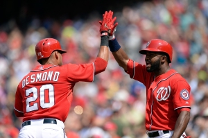Denard Span had his strongest month yet in July, batting .289/.349/.402 with his first two home runs.