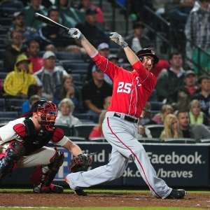 Adam LaRoche provided the decisive blow with his team-leading 18th home run.