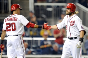 Jayson Werth and Ian Desmond teamed up to lead the Nationals comeback Wednesday night.