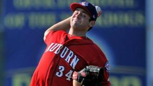 Lucas Giolito, Washington's top pick in 2012, was recently promoted to Short-Season Auburn.