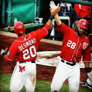 Jayson Werth kept hitting, while Ian Desmond provided a jolt of energy.