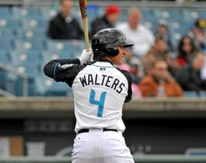 Walters has shown great pop for a middle infielder, sitting on the brink of a 30-home run season.