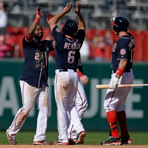 Denard Span keyed another improbable Nationals victory.