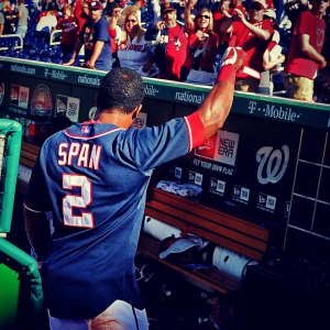 Only 30 players have compiled streaks as long as Span's since 1941.