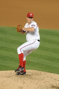 Jordan Zimmerman's 19 wins paced the Nationals staff.