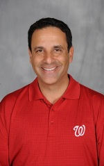 Nationals radio broadcaster Charlie Slowes