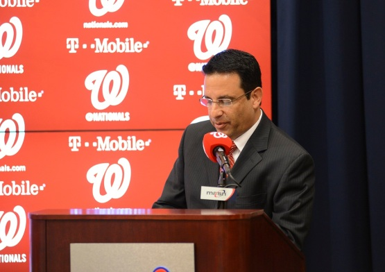 Slowes opened Matt Williams' introductory press conference.
