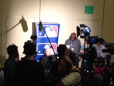 Nationals Manager Matt Williams met with the media at the 2013 MLB Winter Meetings on Tuesday.