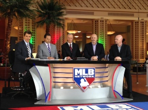 Brian Kenny, former Nationals player Mark DeRosa and John Hart interviewed Mike Rizzo and Matt Williams on Tuesday.