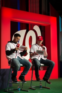 Gio Gonzalez and Ross Detwiler take the stage
