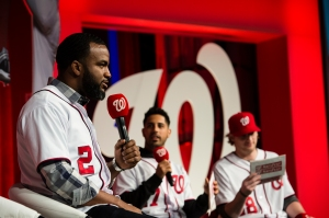 Denard Span joins the fun with Gonzalez and Detwiler