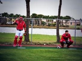 Wilson Ramos and Jose Lobaton.