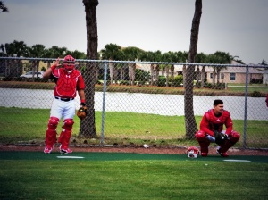 Wilson Ramos and Jose Lobaton.