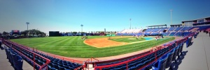 Space Coast Stadium was ready for its first home game of the spring!