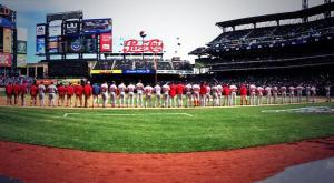 The 2014 Nationals were all lined up and ready to go.
