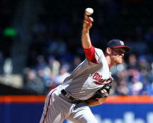 Stephen Strasburg struck out 10 in six innings of work.