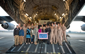 USO Holiday Tour with Chairman of the Joint Chiefs of Staff