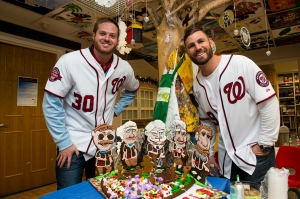 gingerbread nats park with barrett and frandsen