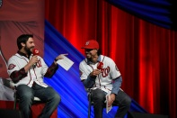 Tanner Roark and Anthony Rendon enjoy hosting one of the events.