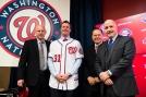 Washington Nationals Introduce Max Scherzer