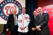 Washington Nationals Introduce Max Scherzer