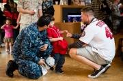 2016 Washington Nationals Walter Reed Visit