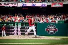 WASHINGTON, DC - JULY 20: The Washington Nationals play a MLB game at Nationals Park on June 20, 2015 in Washington, DC. (Photo by Patrick McDermott for the Washington Nationals Baseball Club)
